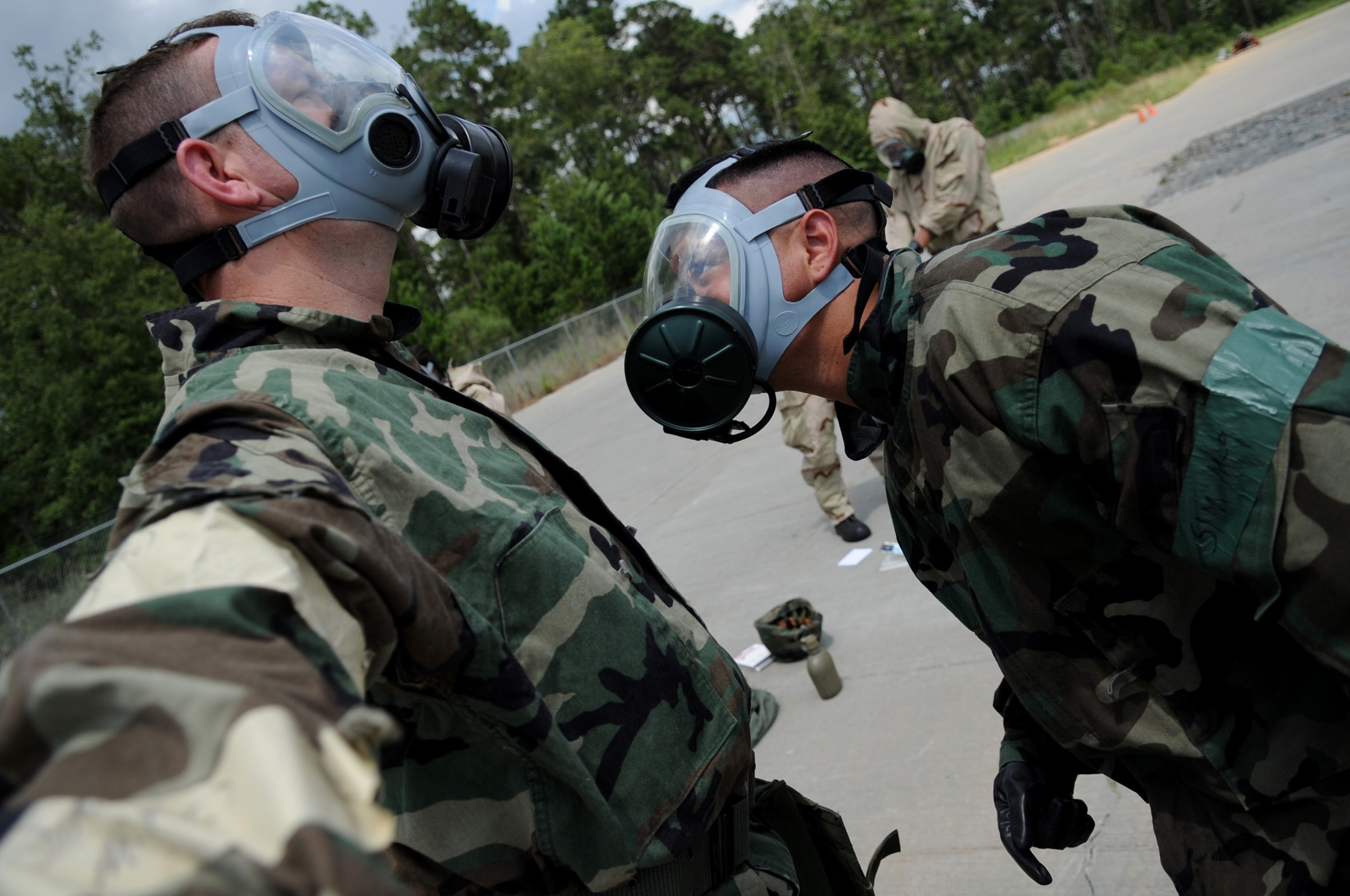 AIrforce Buddy Check for Chemical Warfare Training