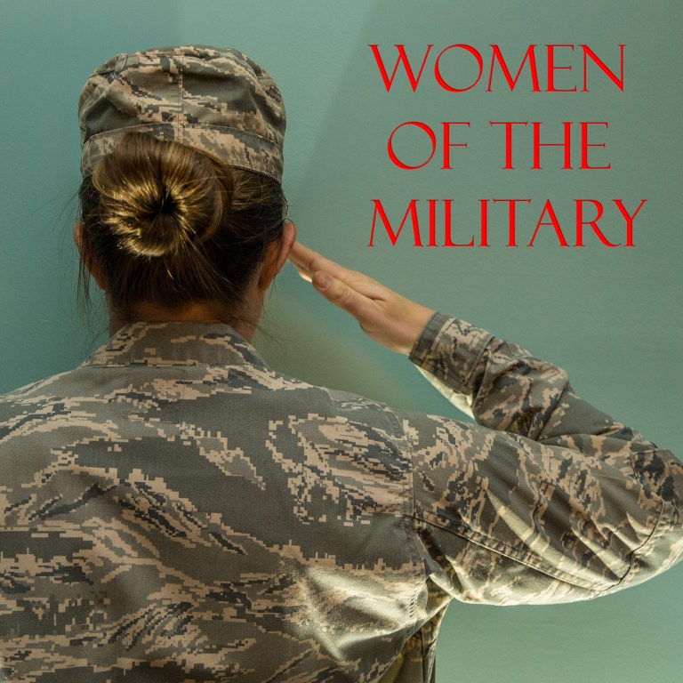 Women of the Military Podcast Logo